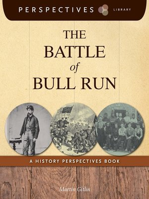 cover image of The Battle of Bull Run