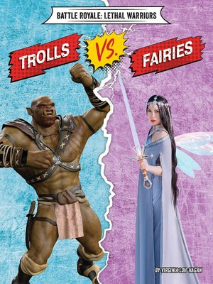 cover image of Trolls vs. Fairies