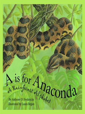 cover image of A is For Anaconda