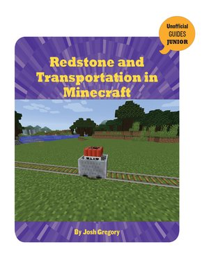 cover image of Redstone and Transportation in Minecraft
