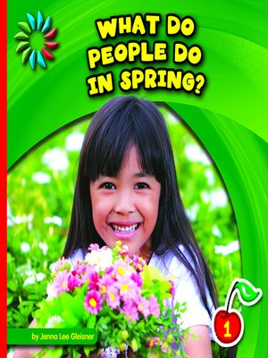 cover image of What Do People Do in Spring?