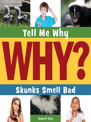 cover image of Skunks Smell Bad