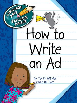 cover image of How to Write an Ad