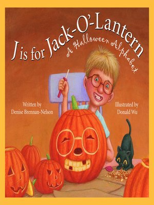 cover image of J is for Jack-O'-Lantern