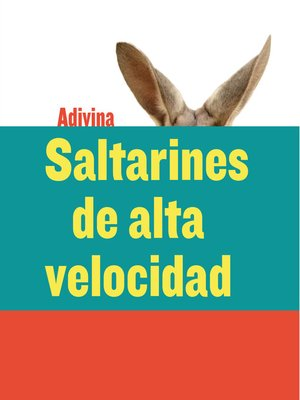 cover image of Saltarines de alta velocidad (High-Speed Hoppers)