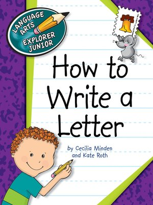 cover image of How to Write a Letter