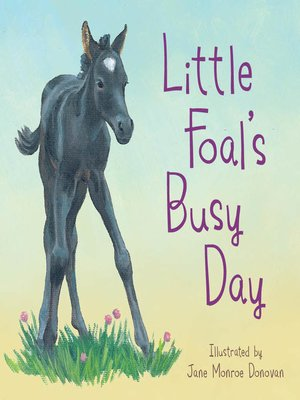 cover image of Little Foal's Busy Day