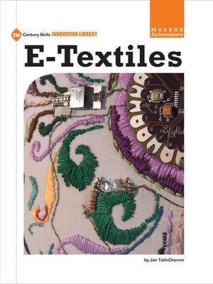 cover image of e-Textiles