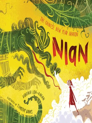 cover image of Nian, the Chinese New Year Dragon