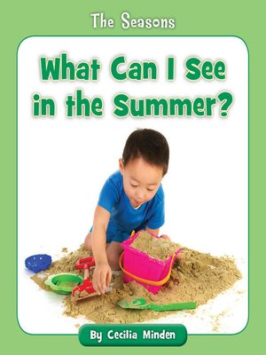 cover image of What Can I See in the Summer?