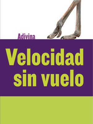 cover image of Velocidad sin vuelo (Fast and Flightless)