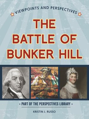 cover image of Viewpoints on the Battle of Bunker Hill