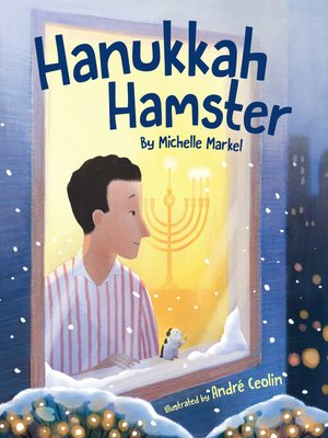 cover image of Hanukkah Hamster