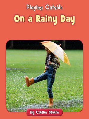 cover image of On a Rainy Day