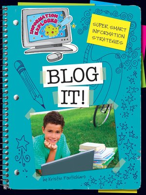 cover image of Blog It!