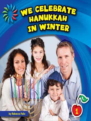 cover image of We Celebrate Hanukkah in Winter