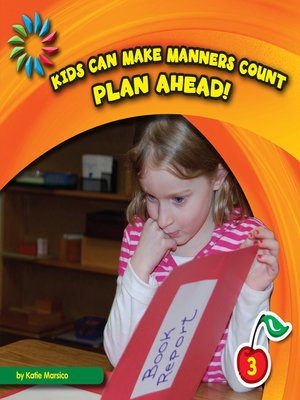 cover image of Plan Ahead!