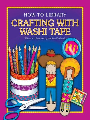 cover image of Crafting with Washi Tape