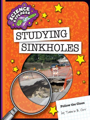 cover image of Studying Sinkholes