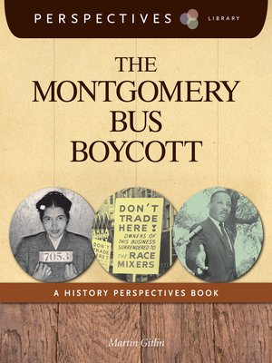 cover image of The Montgomery Bus Boycott