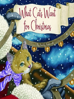 cover image of What Cats Want for Christmas