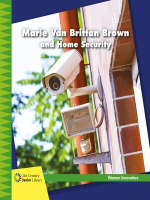 cover image of Marie Van Brittan Brown and Home Security
