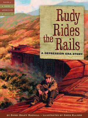 cover image of Rudy Rides the Rails