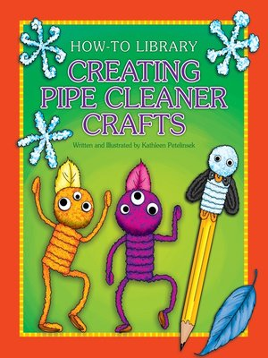 cover image of Creating Pipe Cleaner Crafts