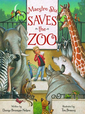 cover image of Maestro Stu Saves the Zoo