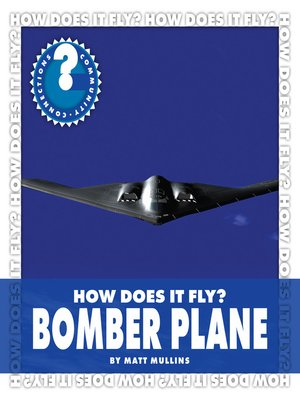 cover image of How Does It Fly? Bomber Plane