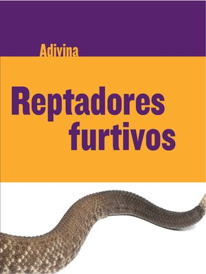 cover image of Reptadores furtivos (Slinky Sliders)