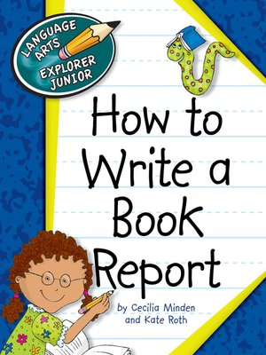 cover image of How to Write a Book Report