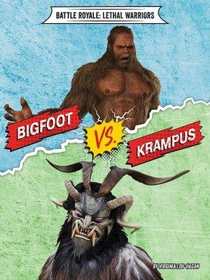 cover image of Bigfoot vs. Krampus