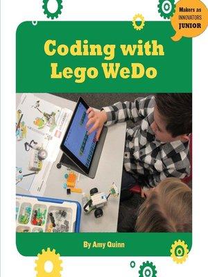 cover image of Coding with LEGO WeDo