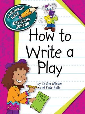 cover image of How to Write a Play