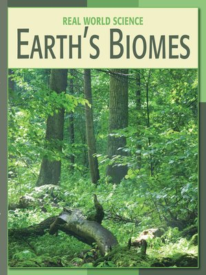 cover image of Earth's Biomes