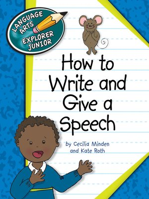 cover image of How to Write and Give a Speech