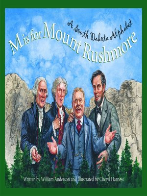 cover image of M is for Mount Rushmore