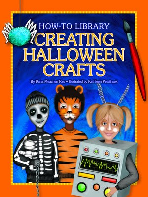 cover image of Creating Halloween Crafts