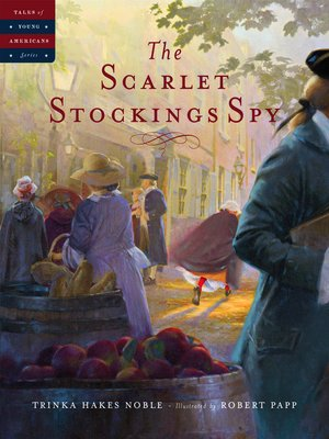 cover image of The Scarlet Stockings Spy