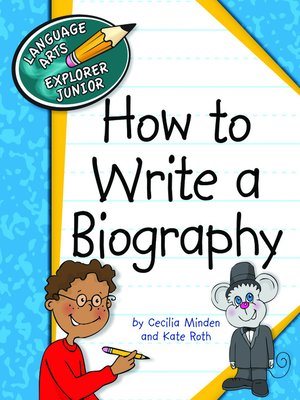 cover image of How to Write a Biography