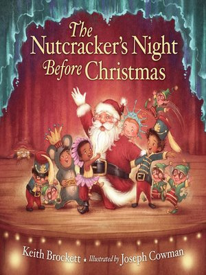 cover image of The Nutcracker's Night Before Christmas