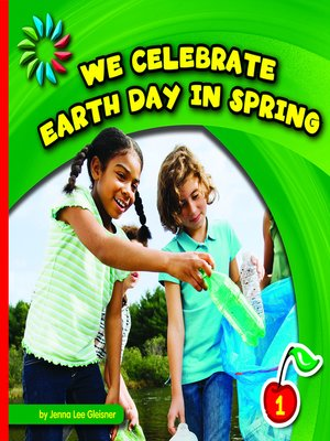 cover image of We Celebrate Earth Day in Spring