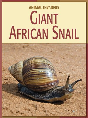 cover image of Giant African Snail