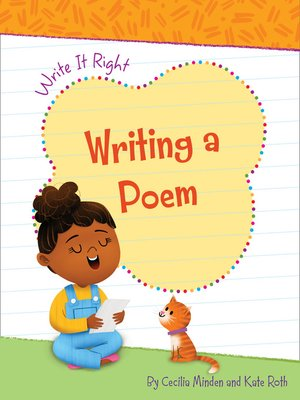 cover image of Writing a Poem