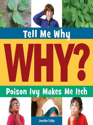 cover image of Poison Ivy Makes Me Itch