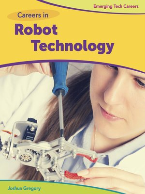 cover image of Careers in Robot Technology