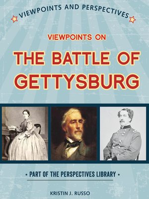 cover image of Viewpoints on the Battle of Gettysburg