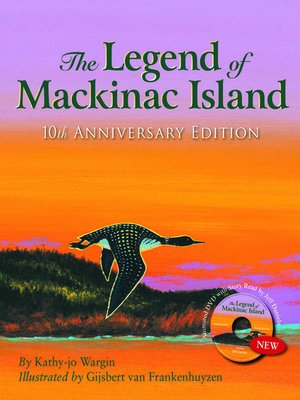 cover image of The Legend of Mackinac Island