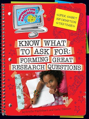 cover image of Know What to Ask